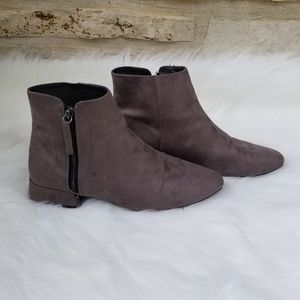 Zara Basic collection Grey booties